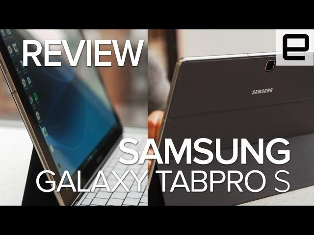 Samung Galaxy TabPro S Review