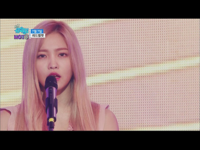 [HOT] Red Velvet - One Of These Nights, 레드벨벳 - 7월7일 Show Music core 20160326