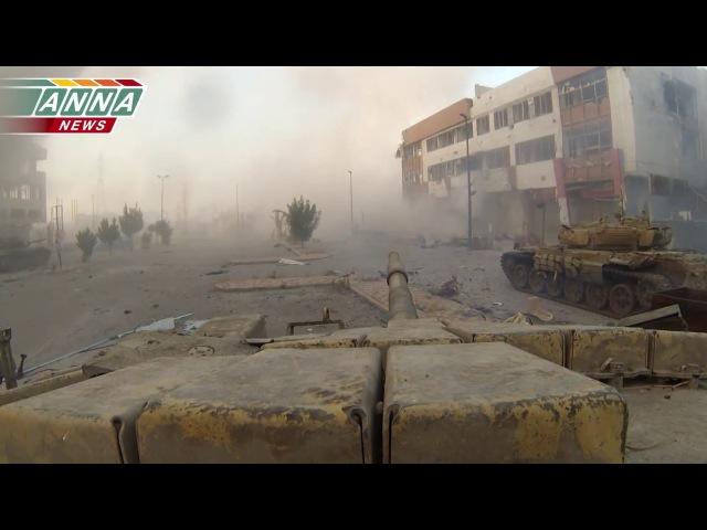 Операция Сирийской армии в Джобаре (р-н Дамаска). Штурм бизнес центра. Часть 1