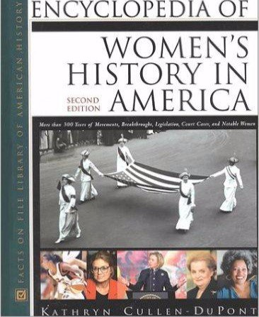 Encyclopedia of Womens History in America Second Edition