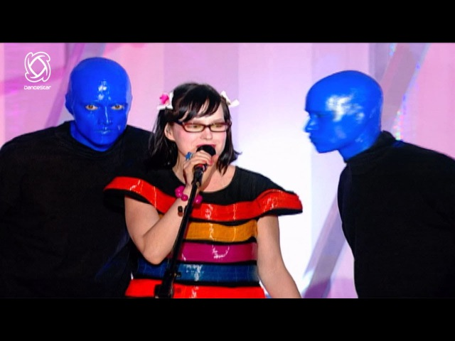 BLUE MAN GROUP Ft. Venus Hum I Feel Love LIVE @Dancestar Music Awards