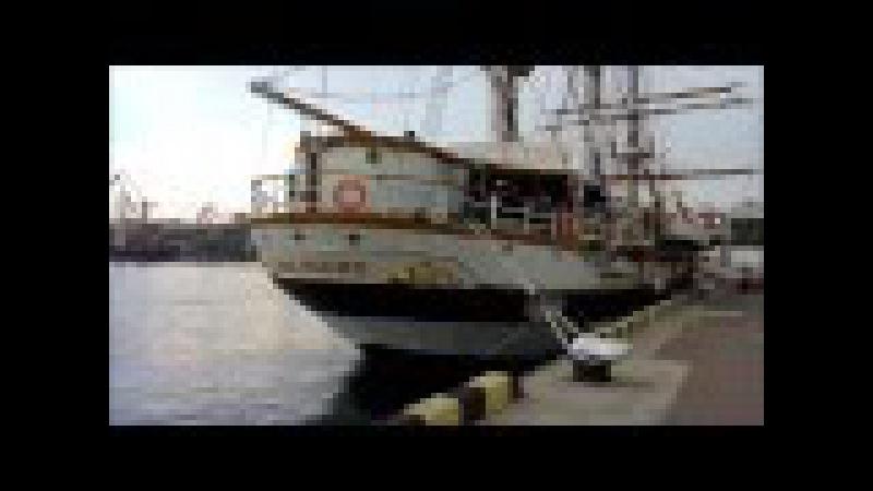 Итальянский парусник Palinuro в Одессе. Безвизовое посещение кусочка Италии! )