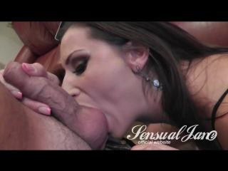 Sensual Jane - Fucking A Curios Guy [2016 ., Brunette, Big Tits, Natural Tits, Oral, Blowjob, Tittyfuck