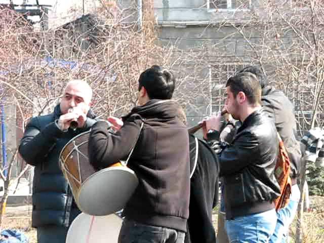 Զուռնա-դհոլի համերգ Մաշտոցի այգում/Zurna-dhol concert in Mashtots park
