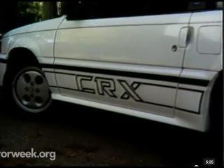 MotorWeek   Retro Review: '86 Honda CRX Si