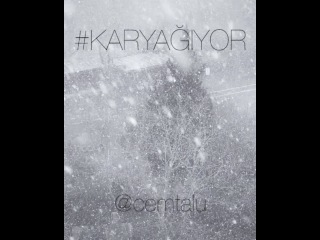 """Cem Talu on Instagram: """"An itibariyle İstanbul❄❄❄😉 #karyagiyor"""""""