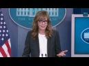 Актриса из Западного крыла разыграла журналистов в Белом доме