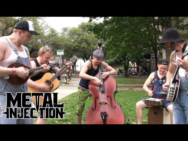 AC/DC You Shook Me All Night Long By STEVE 'N' SEAGULLS at SXSW 2016   Metal Injection