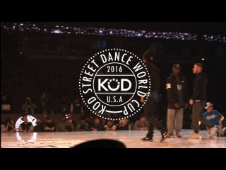 . World Cup 2016 Final Hip Hop KOREA/FRANCE - Les Twins, Waydi, Boubou - Criminalz Crew