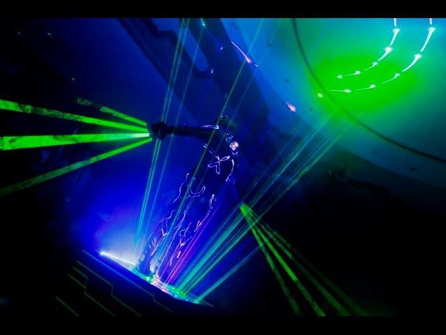 КДБД Laser Man show KARIBAS