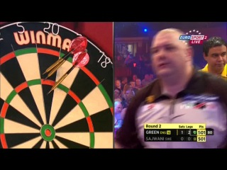Robbie Green vs Peter Sajwani (BDO World Darts Championship 2015 / Round 2)