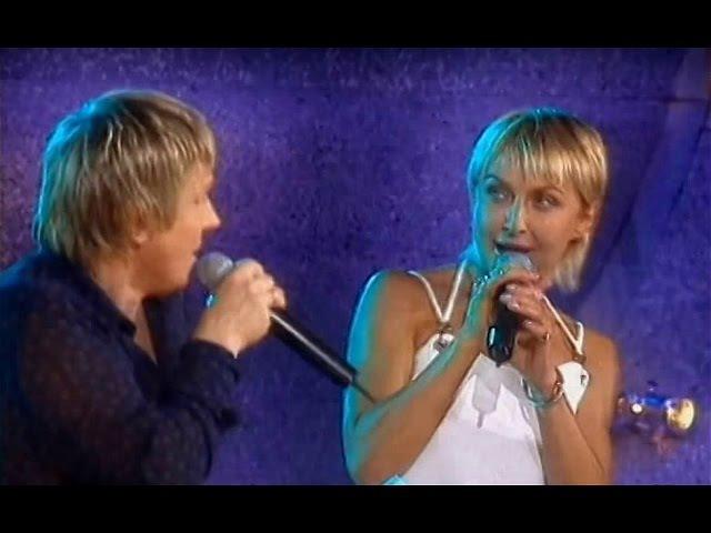 Т. Овсиенко В. Салтыков - «Берега любви» («Новая волна» Юрмала - 28.07. 2004 год).
