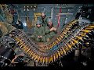 Летающая артбатарея непосредственной поддержки подразделений сухопутных войск Lockheed AC-130  (воздушная крепость, артиллерия)