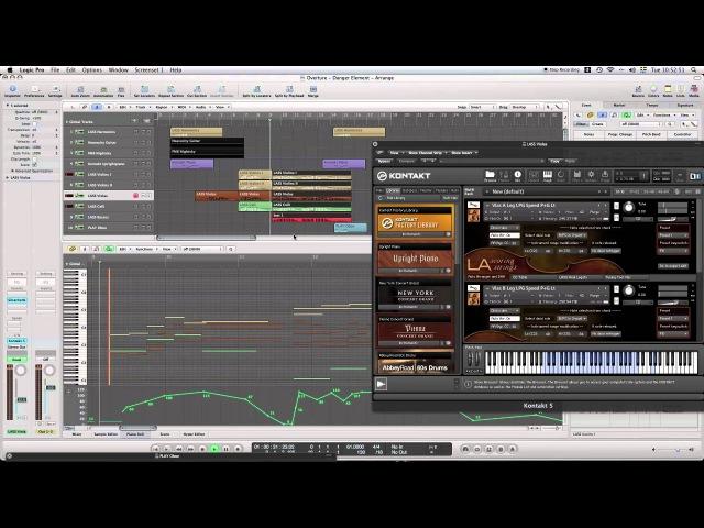 LA Scoring Strings (LASS) Demo - Overture