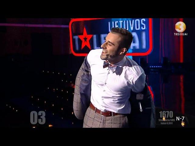 Iliuzionistas Anton Lavrentjev - Lietuvos Talentai, superfinalas 2017