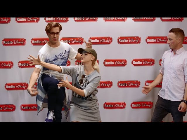 Dove Cameron and Ryan McCartan Triple Threat Challenge Radio Disney