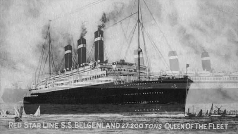 SS BELGENLAND LOlympique Belge 1923