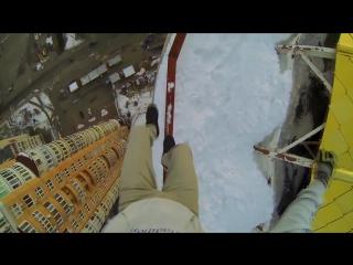 Подборка реально страшных и отмороженных трюков на высоте!Жизнь в Кайф