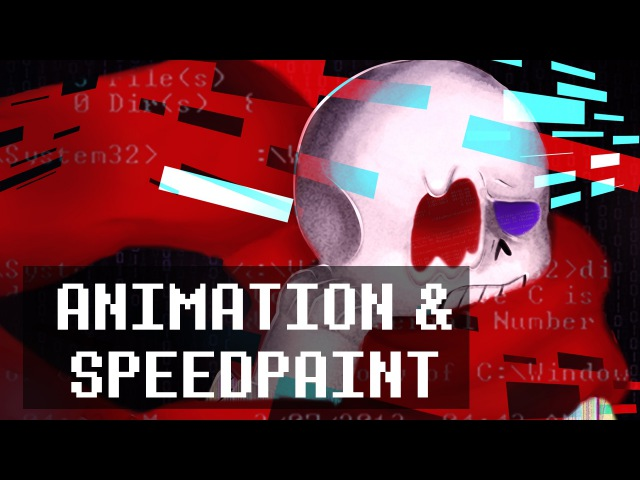 A fatal error has occurred animation and speedpaint