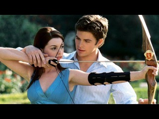 Beautiful and Sexy Anne Hathaway in The Princess Diaries 2: Royal Engagement (2004) - Hot Scenes
