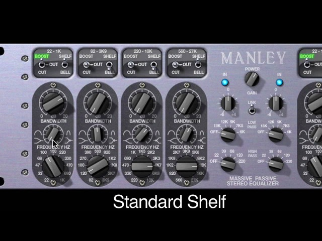 Manley Massive Passive EQ Powered Plug-in Demo for UAD-2