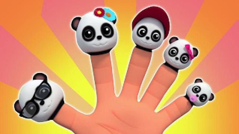 Gia đình ngón tay gấu trúc   trẻ em bài hát   Baby Bao Panda   Family Song   Bao Panda Finger Family