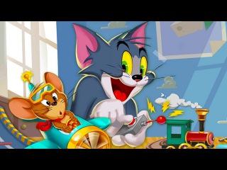 Том и Джерри Веселая Погоня.Смешные Догонялки.Убеги от Тома.Игровой Мультик для Детей