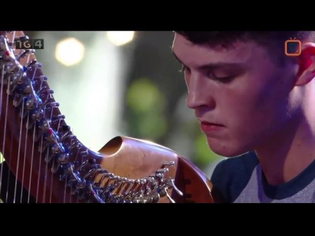 SEAMUS Ó FLATHARTA(Harp Champion)Jig Slip Jig(Fleadh Cheoil 2016-Ennis)
