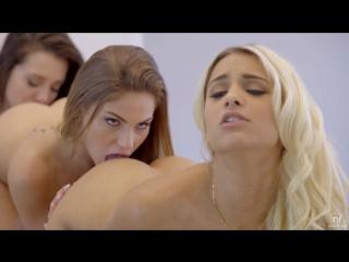 Gia Paige, Sydney Cole and Uma Jolie lesbian