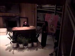 Sara Ramirez singing God Bless The Child