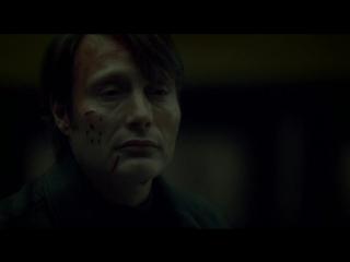 """Hannibal season 3 episode 6 (Ганнибал 3 сезон 6 серия. Диалог в Риме у картины """"Весна"""" Боттичели. Фрагмент. Отрывок. Кусок. Эпиз"""