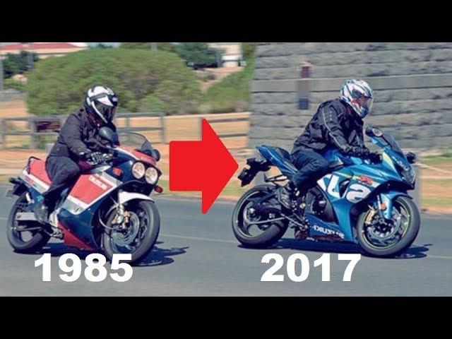 Suzuki GSX-R History (1985 - 2017) | Evolution of a SuperBike