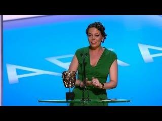 Olivia Colman wins Leading Actress Bafta - The British Academy Television Awards 2014 - BBC One