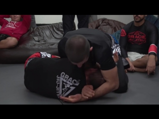 Ryron gracie - how to finish the d'arce on big guys