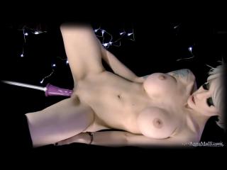 Anna molli fuck machine (solo, masturbation, мастурбация, sex, porno, секс, порно, porn, webcam,big tits)