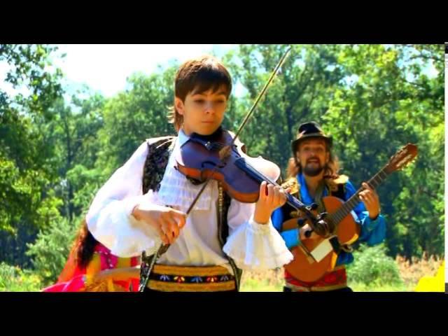 Чардаш Руслан 12 лет Юный виртуоз young virtuoso Цыганский ансамбль Изумруд Chardash Monti