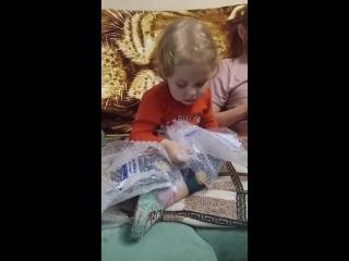 Доча уговаривает папу отпустить маму в зал