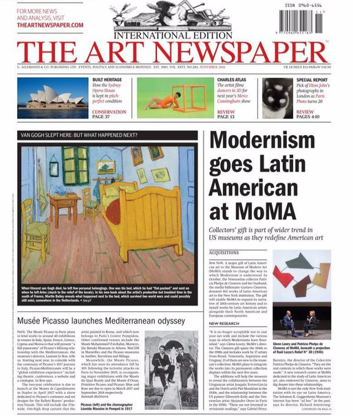 The Art Newspaper - November 2016