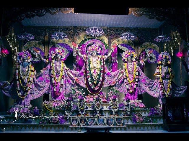 ISKCON Global Gaura Purnima Special Deity Darshan 12 March 2017