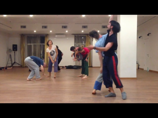 Contact Improvisation Sasha Dodo Artem Markov