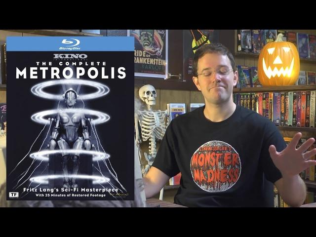 Метрополис 1927 Обзор фильма Monster Madness X 16 Metropolis
