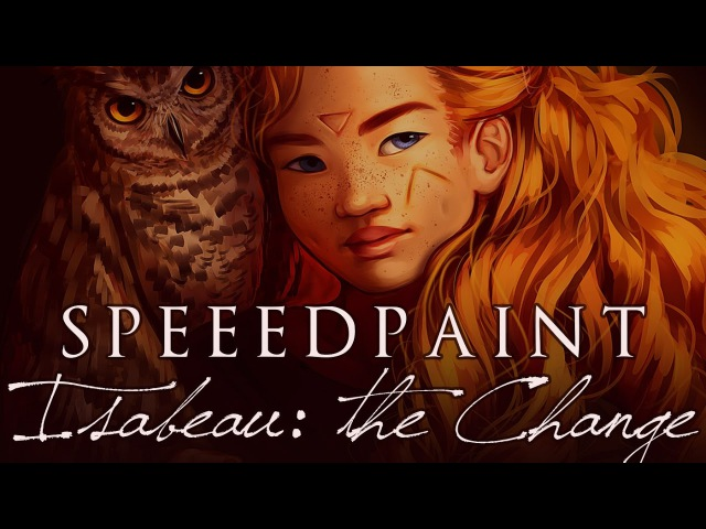 [speed paint] Paint Tool SAI - ISABEAU THE CHANGE (Witches of Eileanan Fanart)