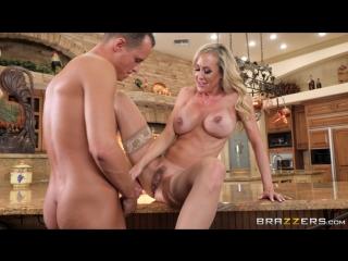 Brandi love (mother's little helper)[2017, big tits worship, blonde, bubble butt, fuck my wife, milf, mom, wife, hd 1080p]
