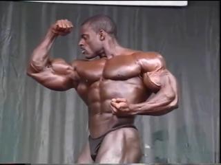 Vince taylor posing @ 1996 german grand prix
