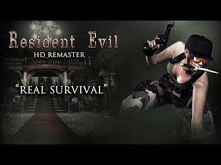 ☣ [PS4] Resident Evil HD Remaster - Jill (Army) Real Survival Mode -  Every Woman for Herself!  HD