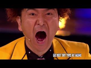 Топ Фокусник из Японии - показал мастер класс на Britain's Got Talent