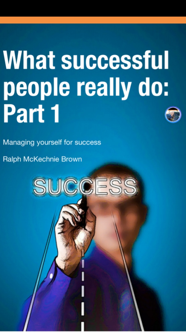 Book cover what-successful-people-really-do-part-1
