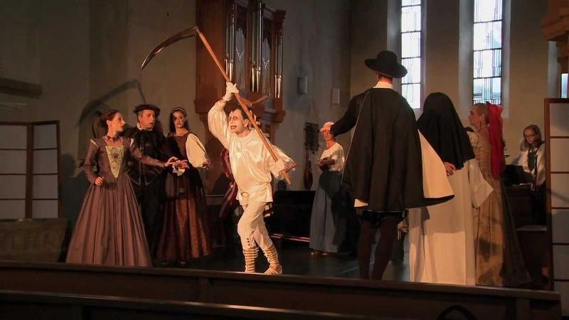 Totentanz ein Musik Sprech Gesang und Tanztheater