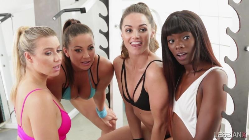 Anikka Albrite, Tori Black, Abigail Mac, Jenna Sativa, Ana Foxxx, Tori Black спортсменки лесбиянки, секс звезда порно модель