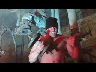 Rummelsnuff & asbach (feat. die kirche des bizeps) eisengott (official video) (2018)